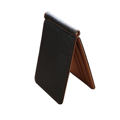 RETON Portafoglio da uomo con portafoglio fermasoldi Portafoglio fermasoldi  portafogli con clip fermasoldi f0bb8355f8ca