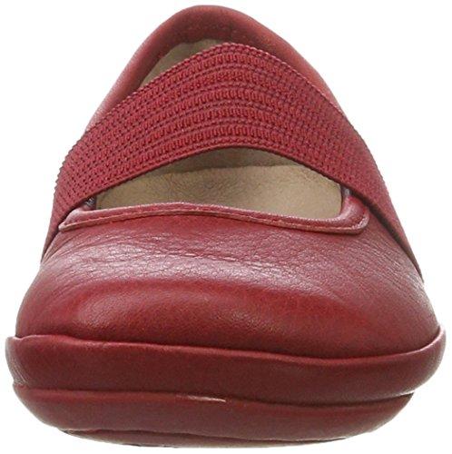 Camper Right, Bailarinas para Niñas Rojo (Medium Red 091)