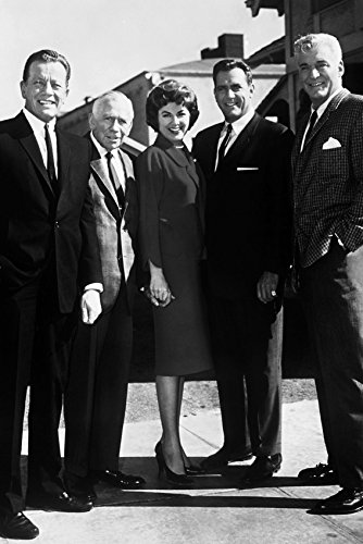 Perry Mason Cast Photo Poster