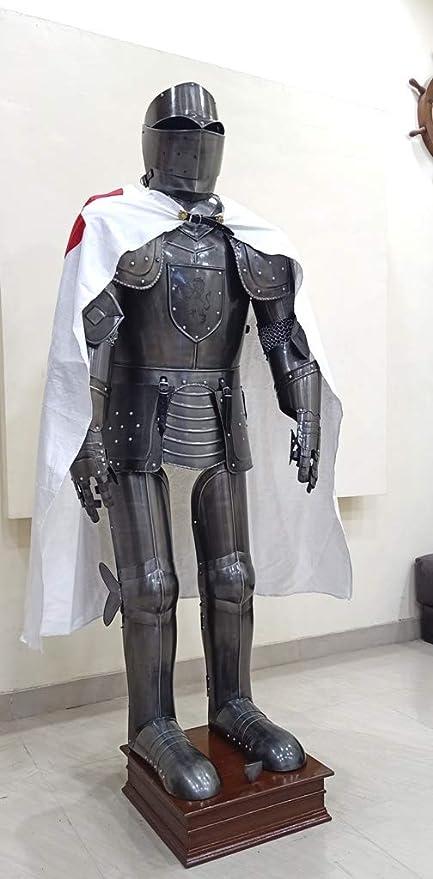 Amazon.com: Medieval gótico Knight Wearable Armor Full traje ...