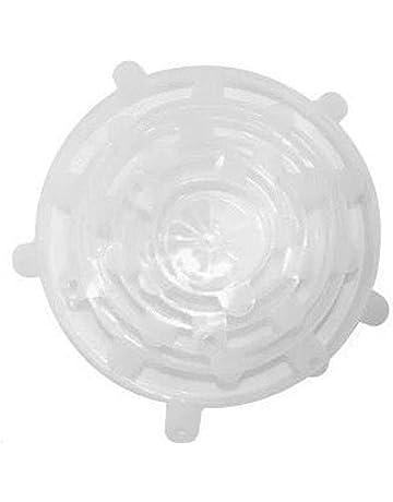 rokirs Tapa Reutilizable de Silicona Reutilizable de 4 pzs. Tapas para latas