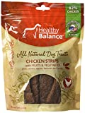 Ethical Pets Chicken Strips Fruit & Veggie Healthy Balance Dog Treats, 10.5 Oz