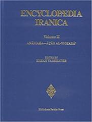 YARSHATER, E,, ED,: ENCYCLOPAEDIA IRANICA, VOL, III: FASCICLES 1 TO 8, ATAS - BAY-HAQI, ZAHIR-AL-DIN, LONDON, 1988, 896 p, Encuadernacion original, Nuevo,