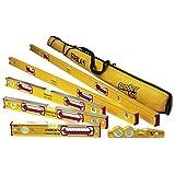"""Stabila 196 Level Set Kit - 78""""/59""""/32""""/24""""/16"""" Torpedo & Case"""