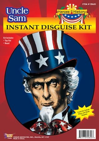 Forum Uncle Sam Costume Set