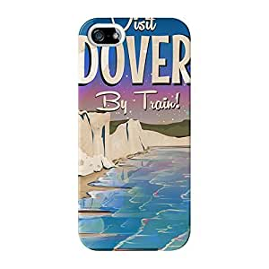 Dover Full Wrap High Quality 3D Printed Case for iPhone 5 / 5s by Nick Greenaway + FREE Crystal Clear Screen Protector