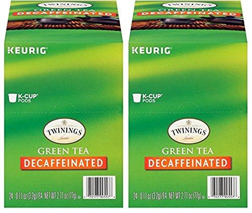 Twinings Green Tea Decaf Keurig K-Cups, 48 Count