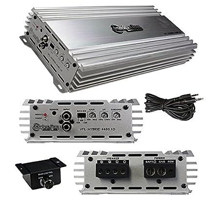 American Bass VFL 4480.1D Class D Mono Hybrid Amplifier