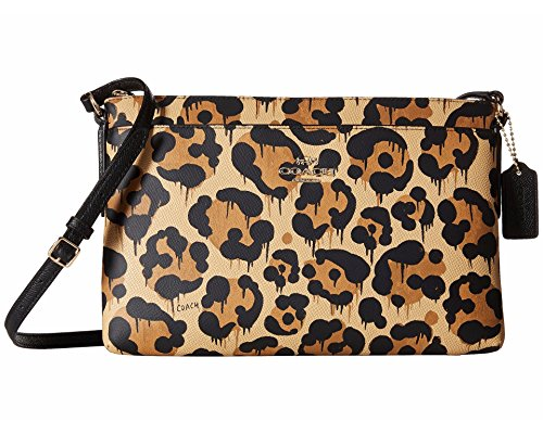 Coach Ocelot Crossbody Beast Journal Wild Print wPwfC