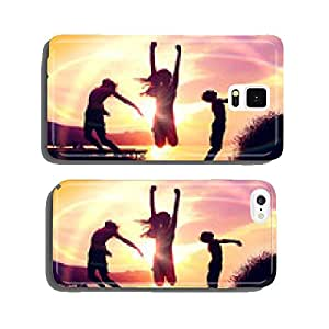 an evening at the lake 05 cell phone cover case Samsung S6