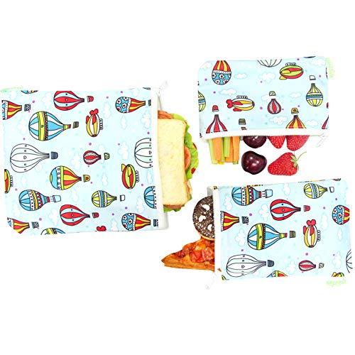 Wegreeco Reusable Snack Bags