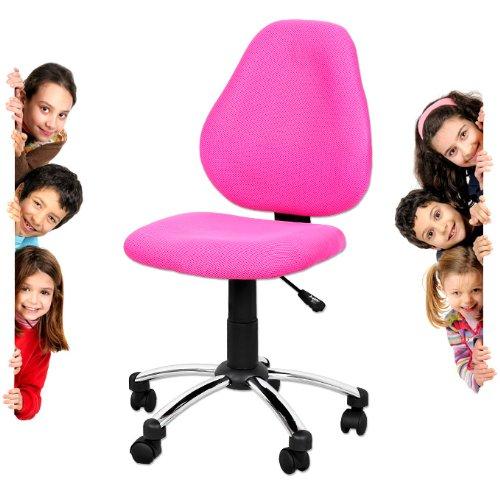 miganeo premium kinderstuhl pink rosa drehstuhl f r kinder. Black Bedroom Furniture Sets. Home Design Ideas
