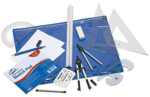 Alvin BDK-1E Basic Beginners Drafting Engineers Kit -