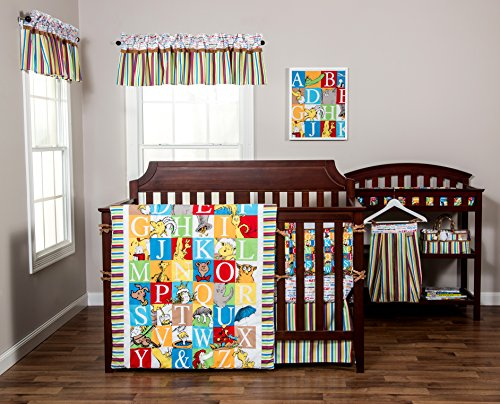 Trend Lab Dr. Seuss Alphabet Seuss 3 Piece Crib Bedding