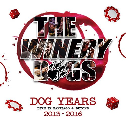 Blu-ray : Winery Dogs - Dog Years Live In Santiago & Beyond 2013-2016 (With DVD, With CD, Deluxe Edition, 3 Disc)