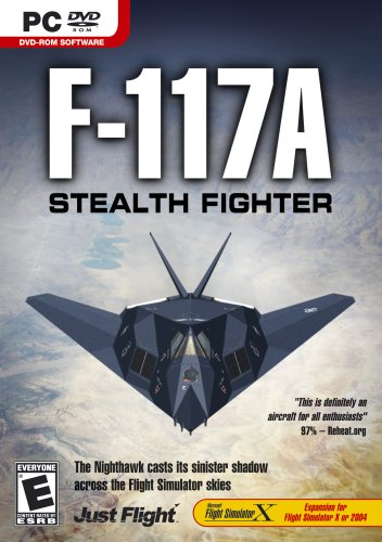 F-117A Stealth Fighter Expansion Pack for Microsoft Flight Simulator  X/2004 - PC