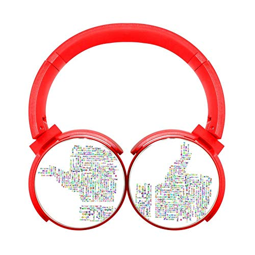 Collection of Free Background Clip Word.Stereo Wireless Headset with Microphone Bluetooth Foldable Portable Stereo Headset for Pc/Tv / Phone Red