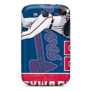 Shock-dirt Proof Atlanta Braves Case Cover For Galaxy S3