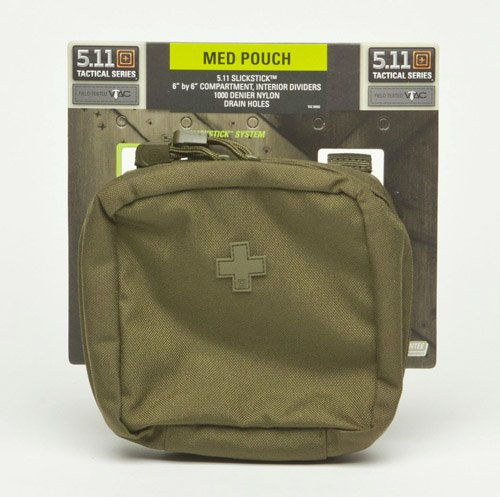 5.11.58715 6.6 Medium Pouch TAC OD One Size, Outdoor Stuffs