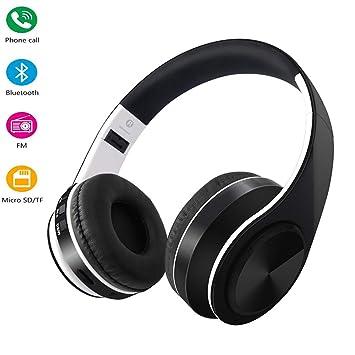 On Ear Auriculares de fácil Plegable, Bluetooth Hi-fi Wireless ...