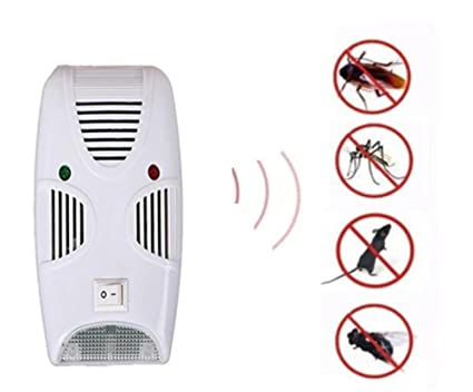 repelentes ultrasónicos Repelente de plagas electromagnético / ultrasónico para squito, araña, hormigas, pulgas