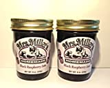 amish made jelly - Mrs. Miller's Homemade Black Raspberry Jelly (2 Pack)