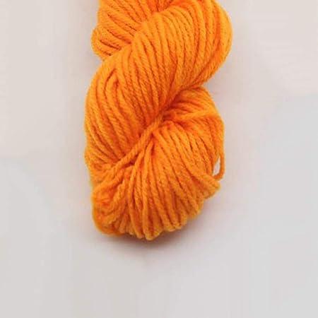 LINGE Hilados de Lana de Tejer de algodón para Tejer Bufanda suéter Tejido a Mano Hilo de Ganchillo Suministros de Tejer a Mano, 9: Amazon.es: Hogar