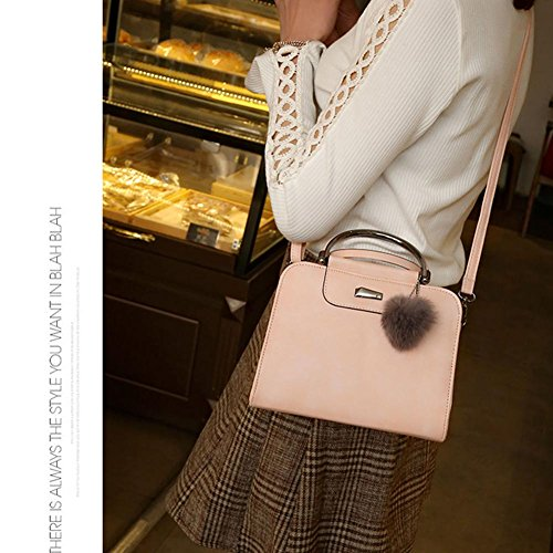 Shoulder PU Classic Bag Crossbody Bags Travel Fashion Pink Handbags Women Domybest CX6TqHxw