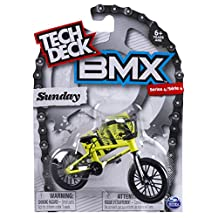 Tech Deck - BMX Finger Bike - Sunday - Black/Yellow