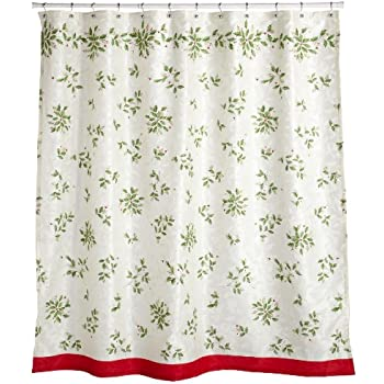 Lenox American By Design 12 Days Of Christmas Shower Curtain 72 X 30