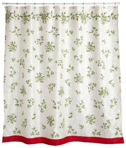 Lenox Holiday Shower Curtain
