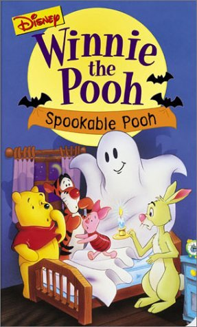 Winnie the Pooh - Spookable Pooh VHS with Attached Trick