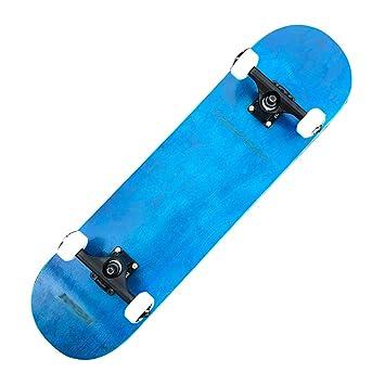 RONGXIN Skateboard para Principiantes - Skateboard Doble ...