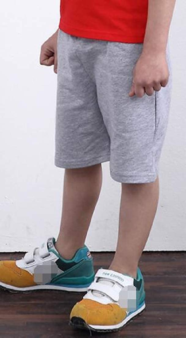 Sweatwater Boys Fitness Stretch Cotton Sport Cute Summer Short