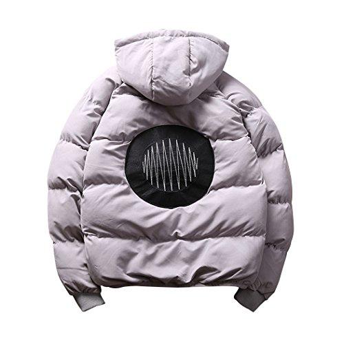 Mens Hooded Bubble Jacket - 6