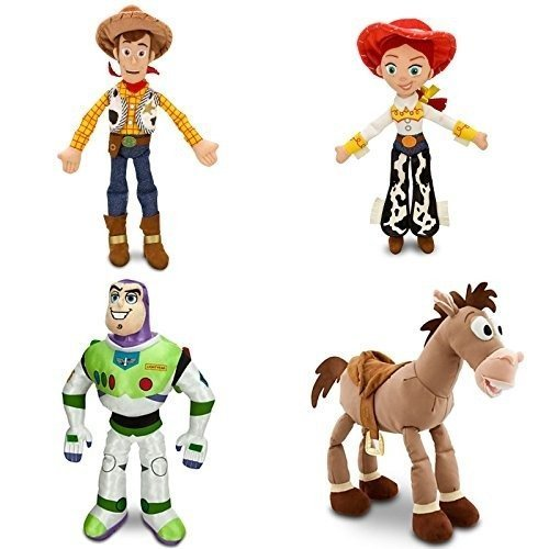 Toy Story - 4 Piece Medium Plush Doll