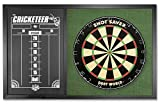 Dart World Combo Backboard Scoreboard, Green