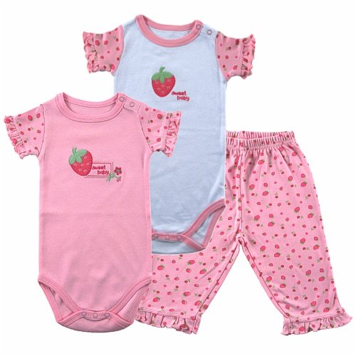Hudson Baby Sweet Baby 2 Bodysuits and Pants
