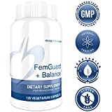 Designs for Health - FemGuard Balance - Hormone + Estrogen Support Formula + DIM + Active Folate + Green Tea Extract + Antioxidants, 120 Capsules