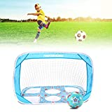 Mini Football Goal Net Foldable Simple for Children and Teenagers 110CM
