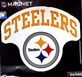 Pittsburgh Steelers ARCH Style Logo 12'' Magnet Heavy Duty Auto Home NFL Football