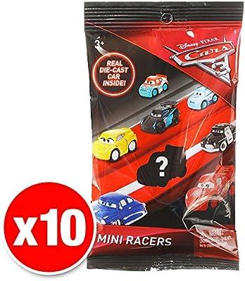 Disney Pixar Cars 3 Micro Racers Blind Bag 10 Pack: Amazon.es: Juguetes y juegos