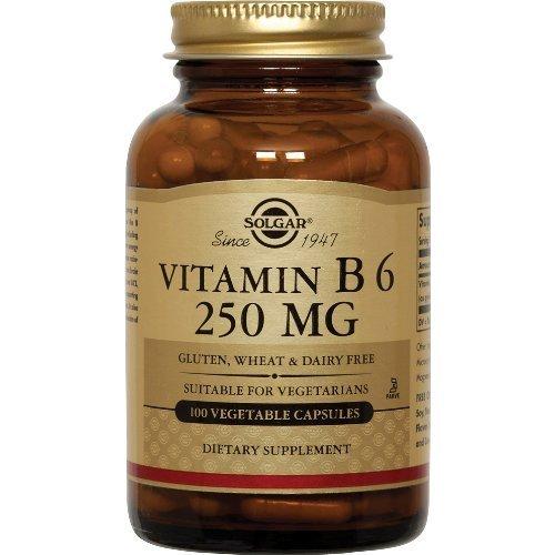 Solgar - Vitamine B6, 250 mg, 250
