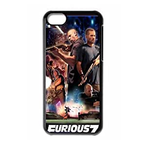 Furious 7 ROCK7033892 Phone Back Case Customized Art Print Design Hard Shell Protection Iphone 5C