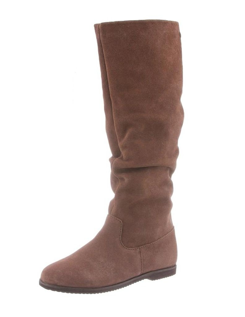 Bearpaw Womens Melanie: 16 In. Boot (Taupe, 7)