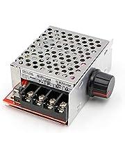 RioRand PWM DC Motor Speed Controller Switch Control 7-70V 30A Fuse(Black)