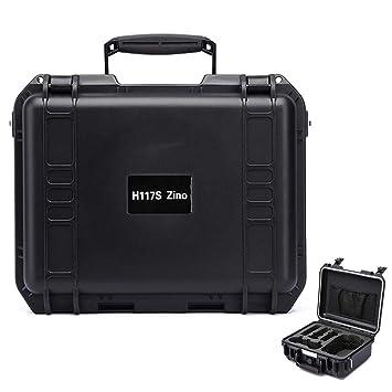 Hubsan Zino H117S 4K Folding Drone - Funda impermeable para Hubsan ...
