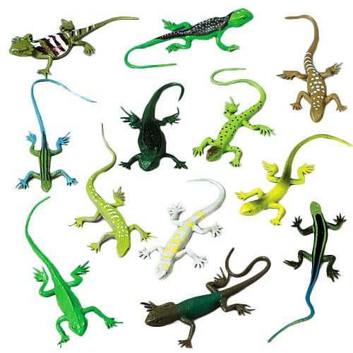 Assorted Toy Plastic Realistic Reptiles