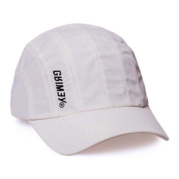 Grimey Gorra Hazy Sun 8 Pannels FW18 White-Strapback: Amazon.es: Ropa y accesorios