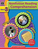 Nonfiction Reading Comprehension Grade 3, Teacher Created Resources Staff, 0743933834